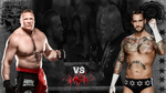 CM Punk VS Brock Lesnar wallpaper by jithinjohny