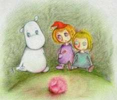 Moomin and the Royal Ruby by Trisha-N