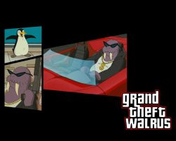 Grand Theft Walrus by mb-neo