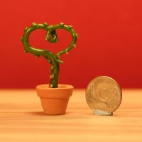 Heart-Shaped Potted Tentacle by erikamoen