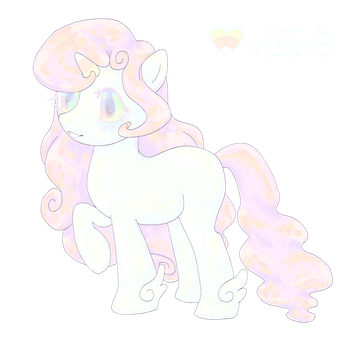Oh look. A pony. by BranwenLittleBird