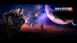 Mass Effect 2 Wallpaper by igotgame1075