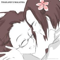APH: Thailand and Malaysia by UTANYOsama