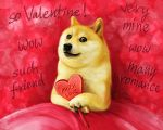 Doge - Wow! So Valentine! Much Love! Such Friend! by Trisste