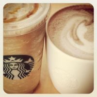 183 Soya Frappuccino and Hot Choc by DistortedSmile