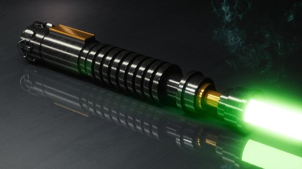 The Jedi's Weapon by CG-Geek