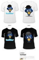 twitter t-shirt ver2 by AndexDesign