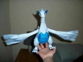 Lugia Papercraft Color by Aosou-kun