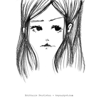 Girl Sketch by beyourpet
