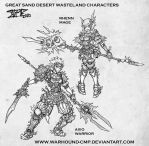 Desert Characters 062010 by Warhound-CMP