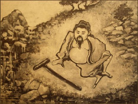 CHUANG TZU by the RIVER by Mosspoint