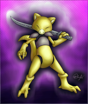 Volsar the Abra by ForcesWerwolf