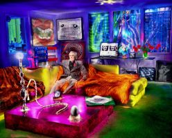 Timothy Leary by kram666