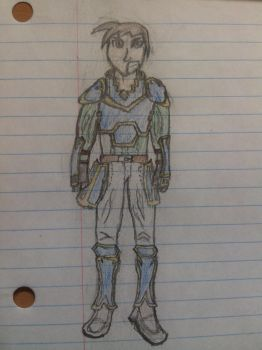Unnamed Fire Emblem OC-First Attempt At Person by AltoClarinet5