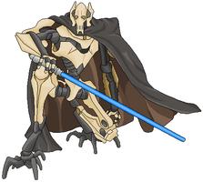 General Grievous by spider-vamp