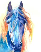 Colored Friesian by kric