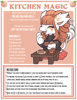 [KM.2] Puff Pastry Peach Tartlets! by BagBe-ingInTheKnow