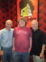 Me, Don Bluth, and Gary Goldman by maniacaldude