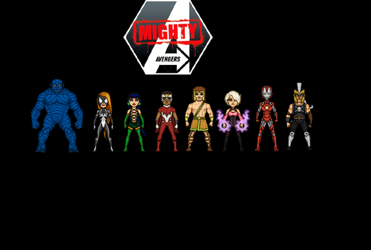 Mighty Avengers by Jalil1m