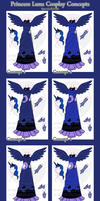 Luna Cosplay Concepts by atomic-kitten10