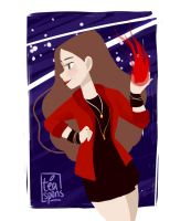 {avengers:age of ultron} scarlet witch by teaspons
