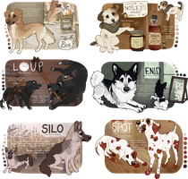 HALLOWEEN ADOPTS (CLOSED) by baying