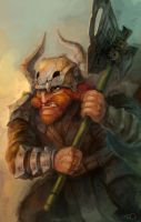 Red beard warrior by zgul-osr1113
