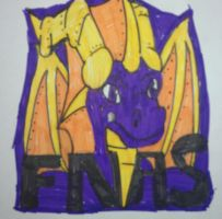 Five Nights At Spyro's by pd123sonic