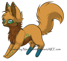 fox adoptable closed by pengirl389265