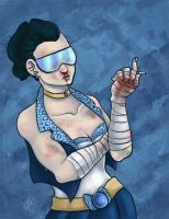 Punk Scouts: Sailor Mercury by Caiwin