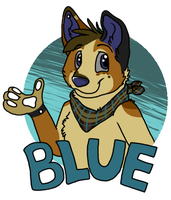 Another Blue Badge by Miiroku