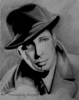 Humphrey Bogart by TrackerJohn