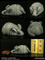 Armadillo Snoutee by CatharsisJB
