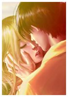 Kiss by 13-year-old