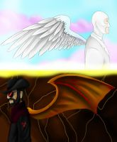 Heaven and Hell by Pickle-Ranger