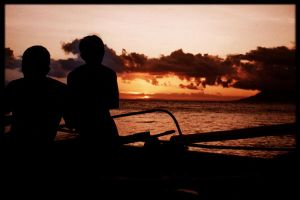 Sunset in Surigao by sirom