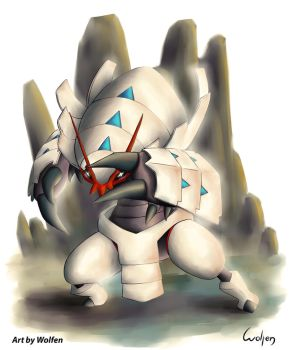 Golisopod Shiny Pokemon by Wolfen-C