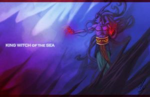King witch of the sea by envidia14