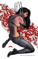 X-23 Tortured by Dan-DeMille