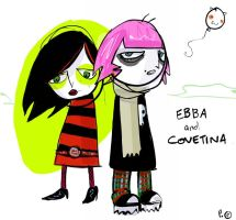 ebba and covetina.  help. by boobookittyfuck