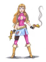 Contest Entry 1 - Zelda redux by TemaShika85