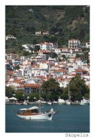 Skopelos city by dgheban