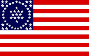 50 Star U. S. History Flag By: Dave Martucci  1979 by StephenBarlow
