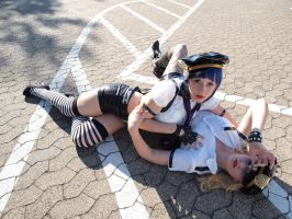 Panty and Stocking with Garterbelt by photoplasma