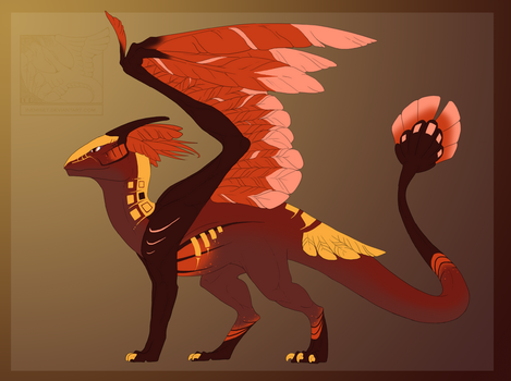 Dragon Adoptable 3 - Closed by Inemiset