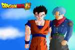 Gohan Y Trunks Del Futuro Dbs by luroper