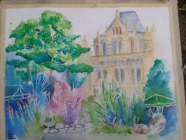 Natural History Museum - Nature Garden by xXxParabolaxXx