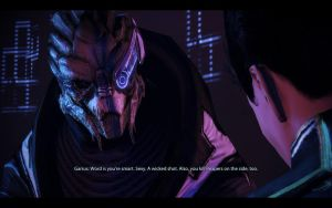 ME3 Citadel DLC - G/S Date - Garrus 4 by chicksaw2002