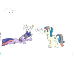 Bon Bon Laughs At Twilight's Expense by Swordofjanak