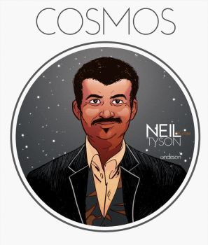 Neil deGrasse Tyson by andloco